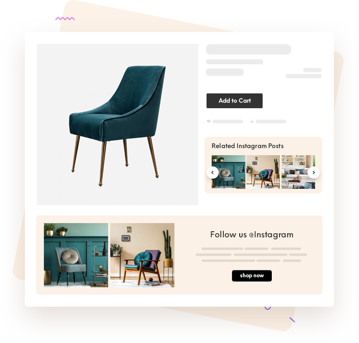 Instagram Posts on Product Page Magento 2