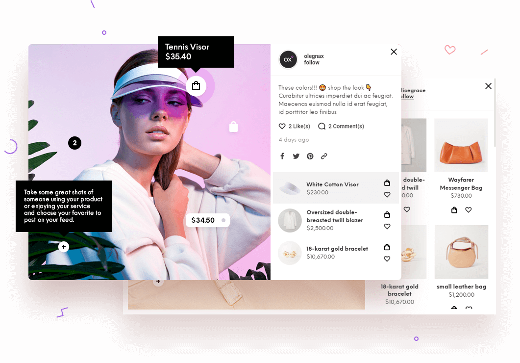 Shoppable Instagram Feed Magento 2